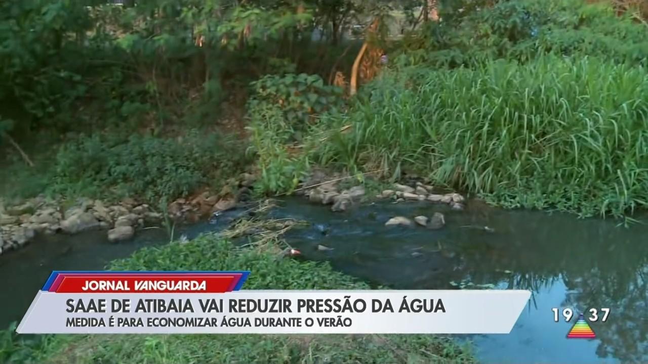 Saae de Atibaia vai reduzir pressão para economizar água