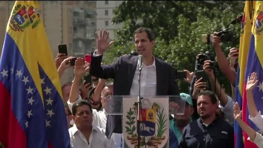 Juan Guaidó se declara presidente interino da Venezuela e é reconhecido por Brasil e EUA