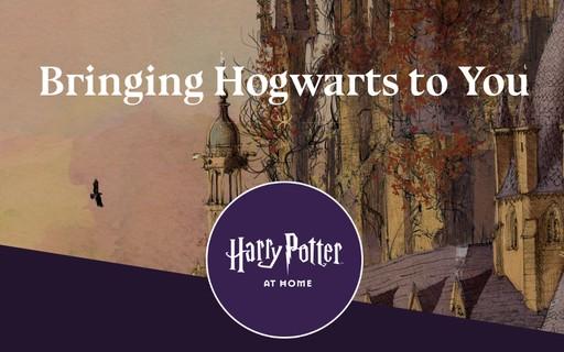 """J. K. Rowling lança """"Harry Potter em Casa"""" para entreter fãs na quarentena"""