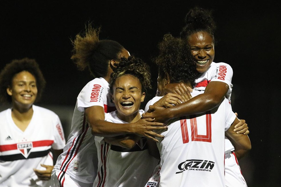 São Paulo conquistou o acesso à Série A1 do Brasileiro Feminino — Foto: São Paulo