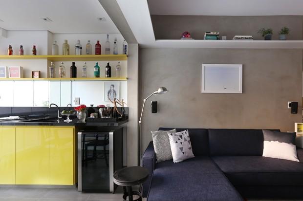 Decoração de apartamento pequeno: 10 dicas para escolher os móveis (Foto: Henrique Gargantini)