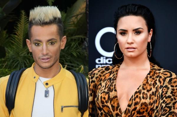 Frankie Grande e Demi Lovato (Foto: Getty Images)