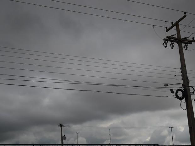 Tempo ro Vilhena (Foto: Aline Lopes/G1)