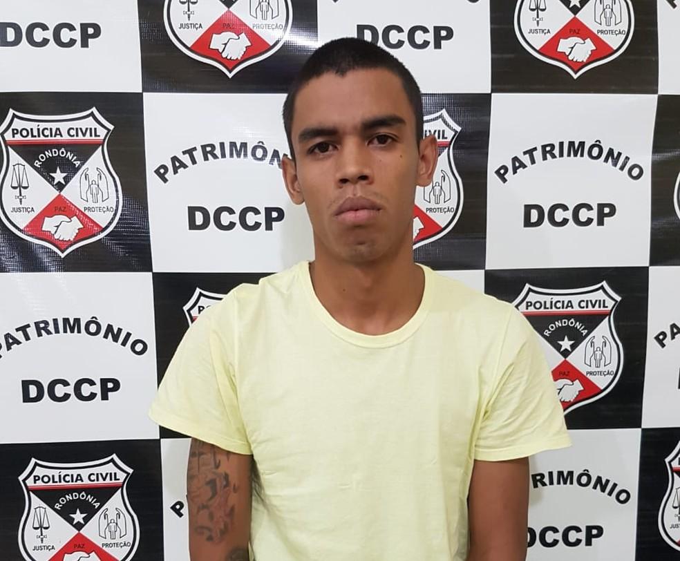 Henrique Gabriel da Silva Ferreira confessou participação no latrocínio — Foto: Polícia Civil/Divulgação
