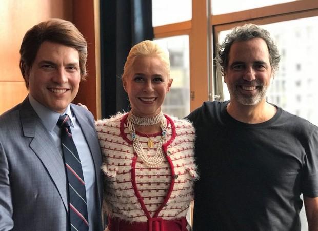 Daniel Boaventura, Andréa Beltrão e Maurício Farias (Foto: Reprodução/Instagram)