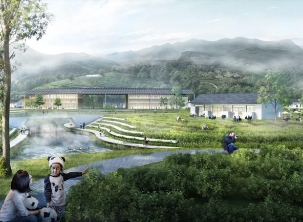 As áreas mais remotas serão dedicadas às pesquisas científicas (Foto: China Discovery/ Reprodução)