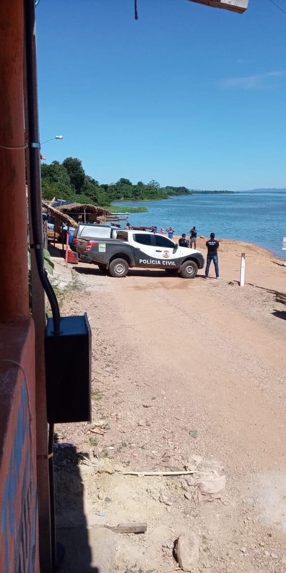 Polícia fiscaliza cumprimento de decreto que proíbe acampamentos e aglomerações em Santa Fé do Araguaia