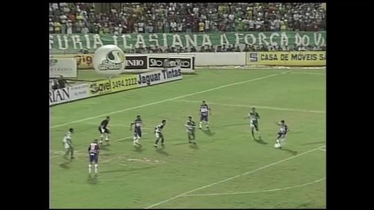 Veloz e decisivo: relembre cinco gols importantes de Osvaldo pelo Fortaleza