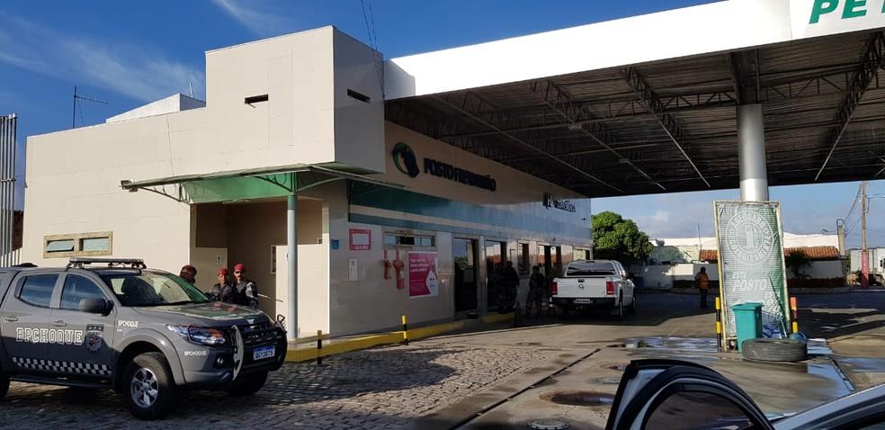 O MPRN apurou que o posto foi contratado pela Prefeitura de Caiçara do Rio do Vento na atual gestão. — Foto: MPRN/Divulgação