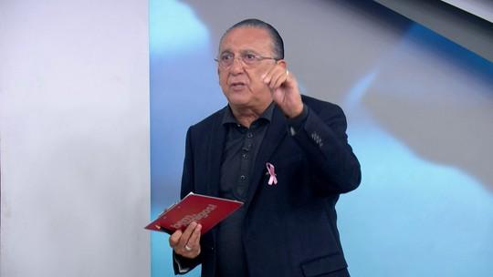 """Galvão critica """"cena ridícula"""" da arbitragem de Internacional x Santos: """"Todos reféns do VAR"""""""