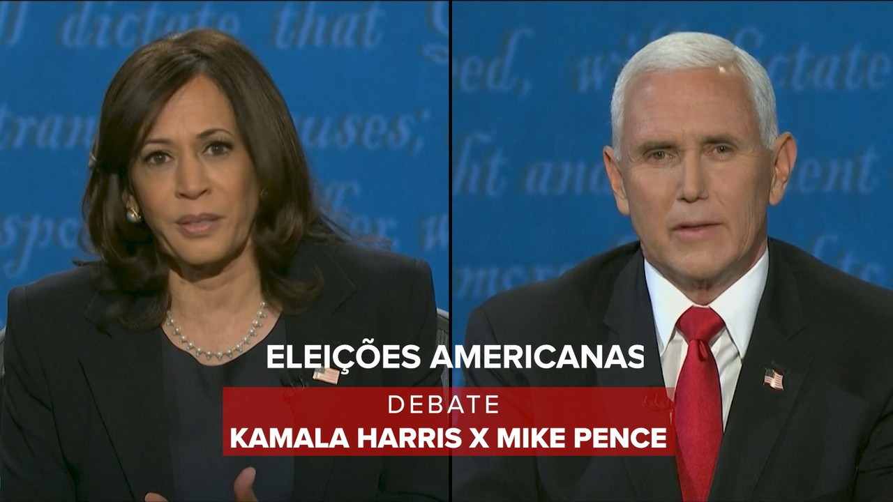 Veja os principais momentos do primeiro debate entre Kamala Harris e Mike Pence