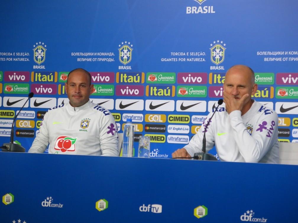 Rogério Maia trabalhou com Taffarel na preparação de goleiros para a Copa de 2018 — Foto: Edgard Maciel de Sá