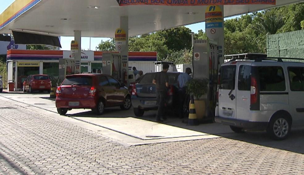 Ceará registrou aumento nos preços da gasolina após novo reajuste da Petrobras (Foto: Arquivo/G1)