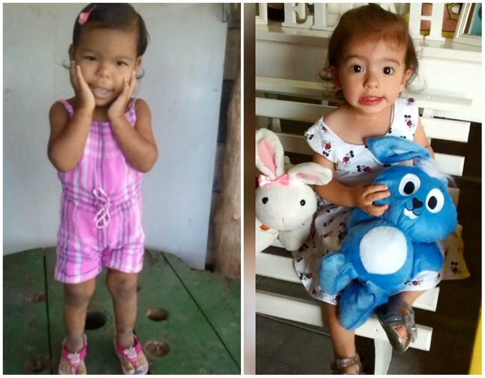 Rebeca e Manuelly também morreram na UPA da Avenida 29 em Rio Claro (Foto: Reprodução/ EPTV)