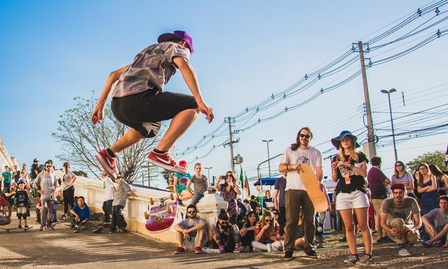 Skate no Asilo, evento em Porto Alegre