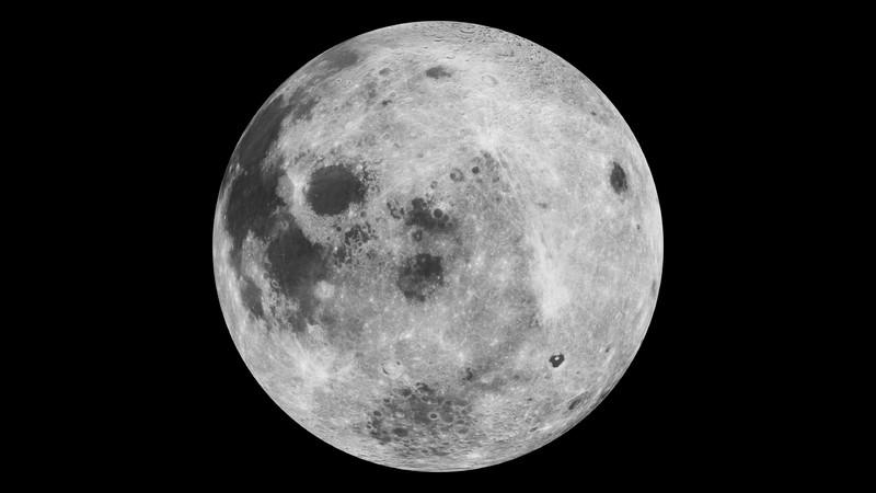 Lua é formada de vários detritos que ficaram no espaço após colisão de planeta com a Terra (Foto: NASA/Goddard Space Flight Center)