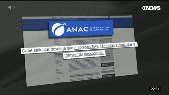 Empresa que levava Boechat não podia fazer táxi aéreo, diz Anac