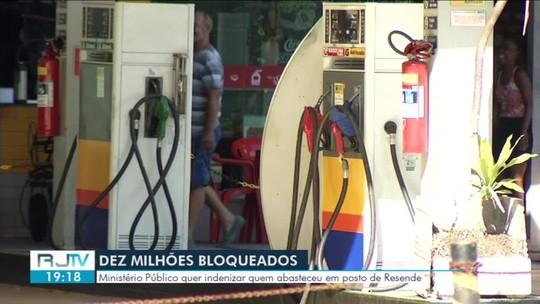Justiça bloqueia R$ 10 milhões de proprietários de posto de combustíveis em Resende