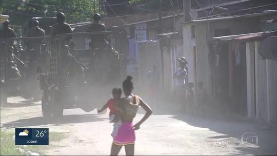 RJ tem quase 30 tiroteios desde ontem; PM é ferido no Vidigal