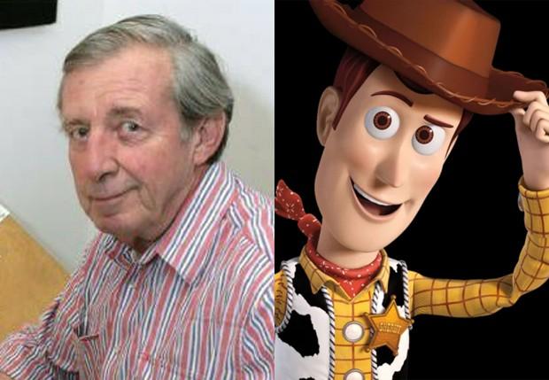 Bud Luckey criou o visual de Woody em Toy Story (Foto: Reprodução/Facebook)