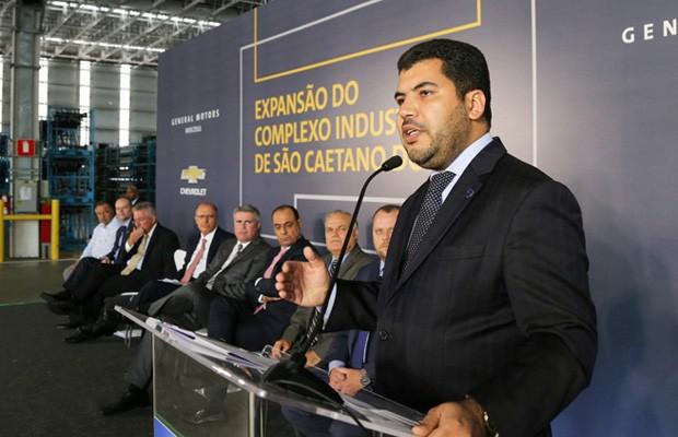 O ministro da Indústria, Comércio Exterior e Serviços, Marcos Jorge de Lima, comenta o programa Rota 2030 (Foto: Divulgação)