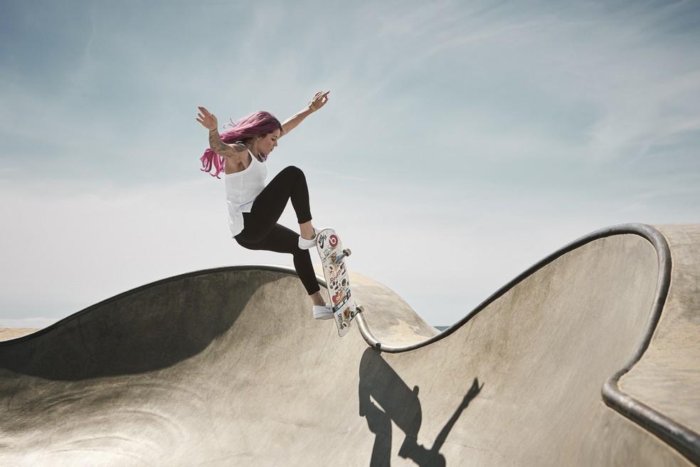 Letícia Bufoni; Skate; Olimpíadas — Foto: Steven Lippman/Red Bull