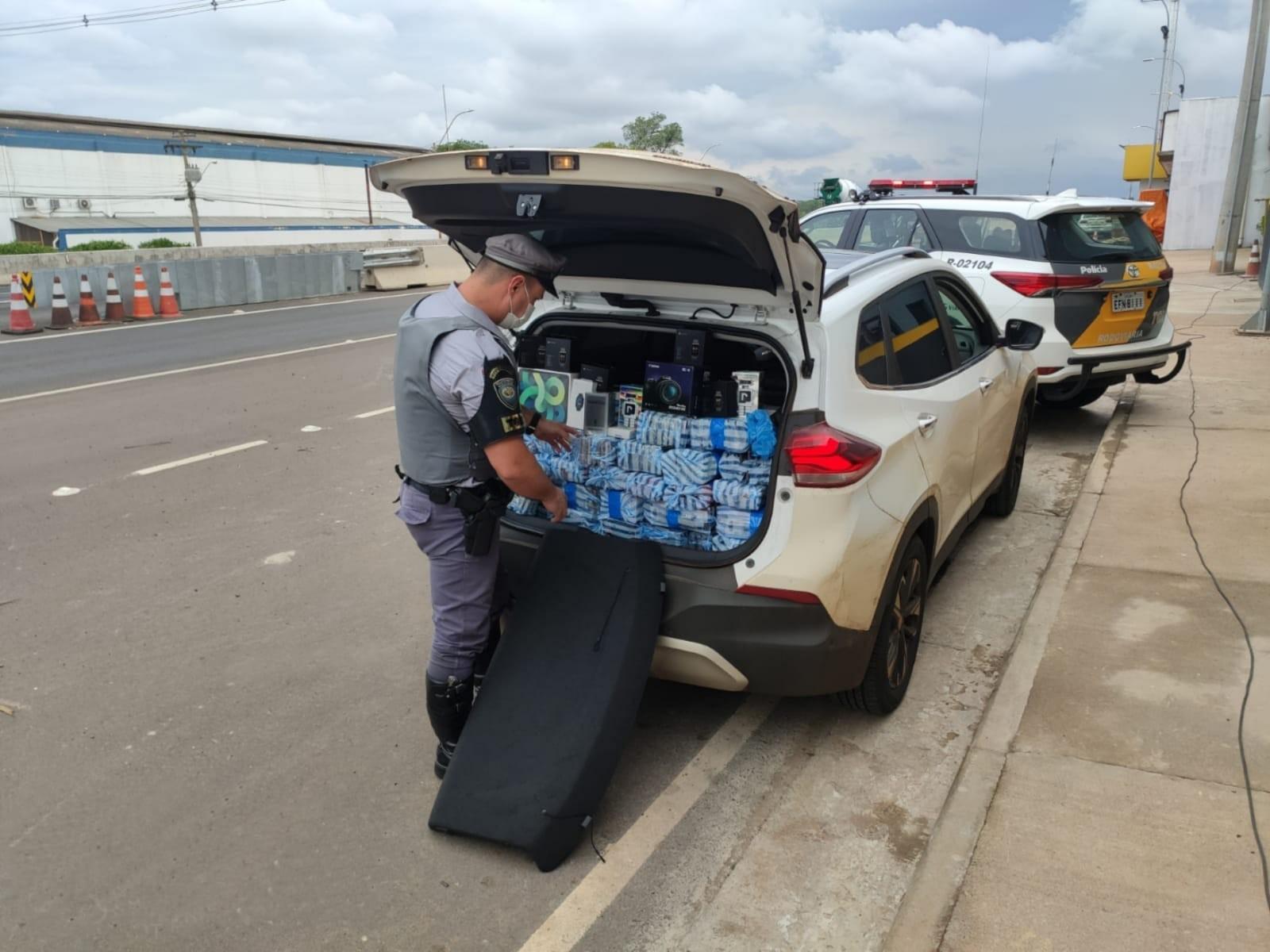 Casal é preso com produtos contrabandeados em Paulistânia