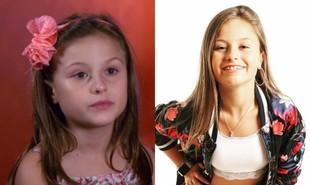 Rafa Gomes foi finalista da primeira edição do 'The voice kids', em 2016, aos 10 anos. Hoje, aos 13, além de cantora, é youtuber | Reprodução