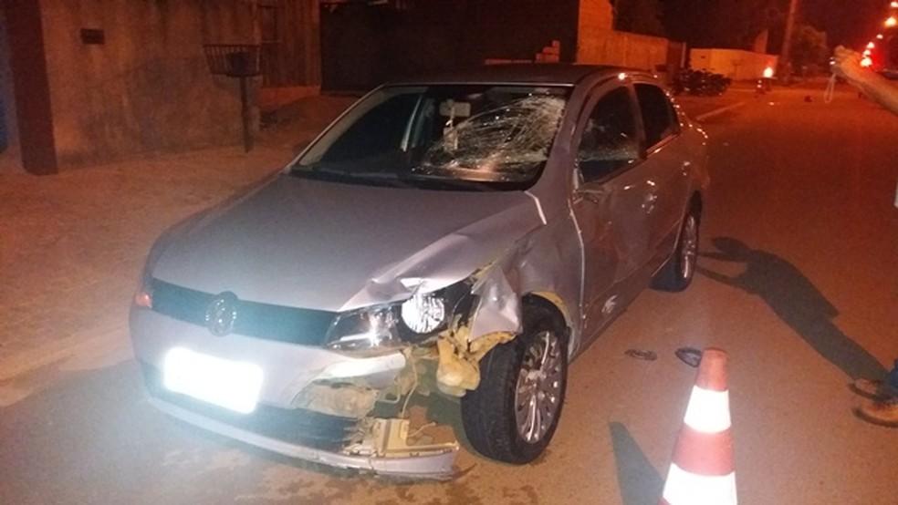 Funcionário de lava jato estava indo entregar o veículo ao proprietário (Foto: Rota Policial News/Reprodução)