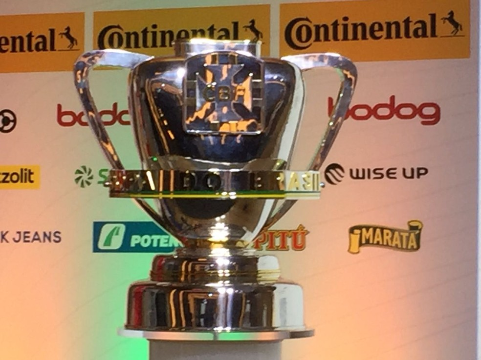 Troféu da Copa do Brasil 2018 (Foto: Felippe Costa / GloboEsporte.com)