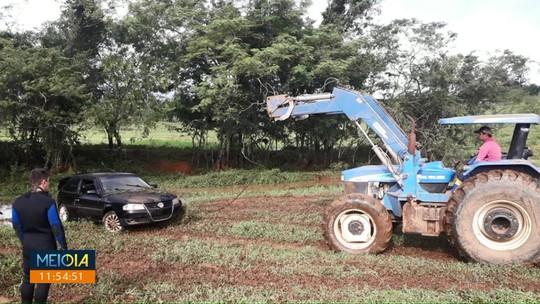 Irmãos morrem afogados em acidente na zona rural de Faxinal