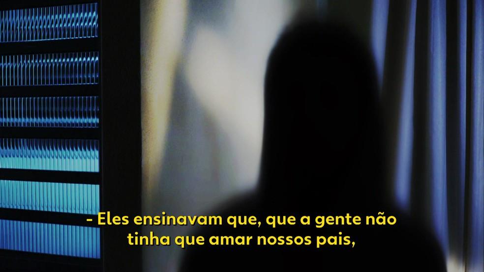 Mãe de ex-interna denúncia abusos — Foto: TV Globo/Reprodução