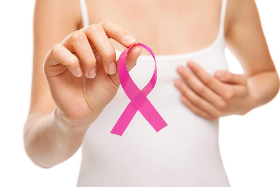 Outubro Rosa é o mês de conscientização do cancêr de mama, colo e útero — Foto: Reprodução