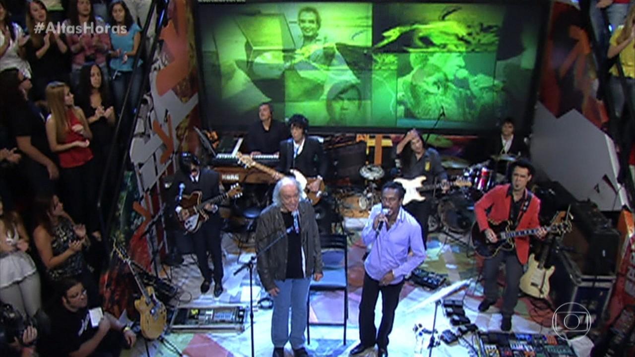 Erasmo Carlos e Luiz Melodia cantam 'Minha Fama de Mau'