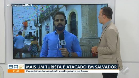 Polícia registra mais um assalto a turista colombiano em Salvador