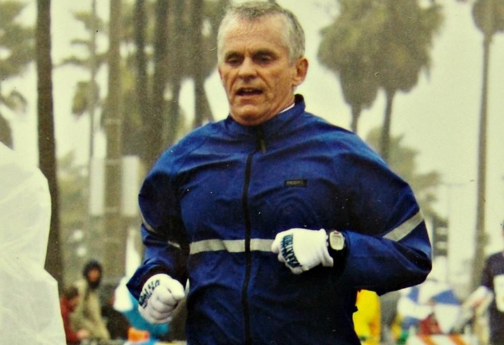 Aos 70 anos, Luiz não pretende parar de correr, nem de fazer maratonas (Foto: Arquivo pessoal)