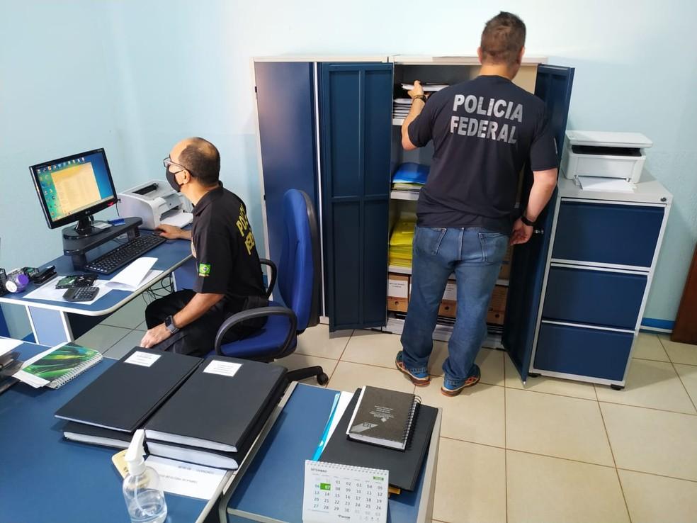 Polícia faz operação contra grupo de empresários em Rondônia — Foto: PF/Ji-Paraná