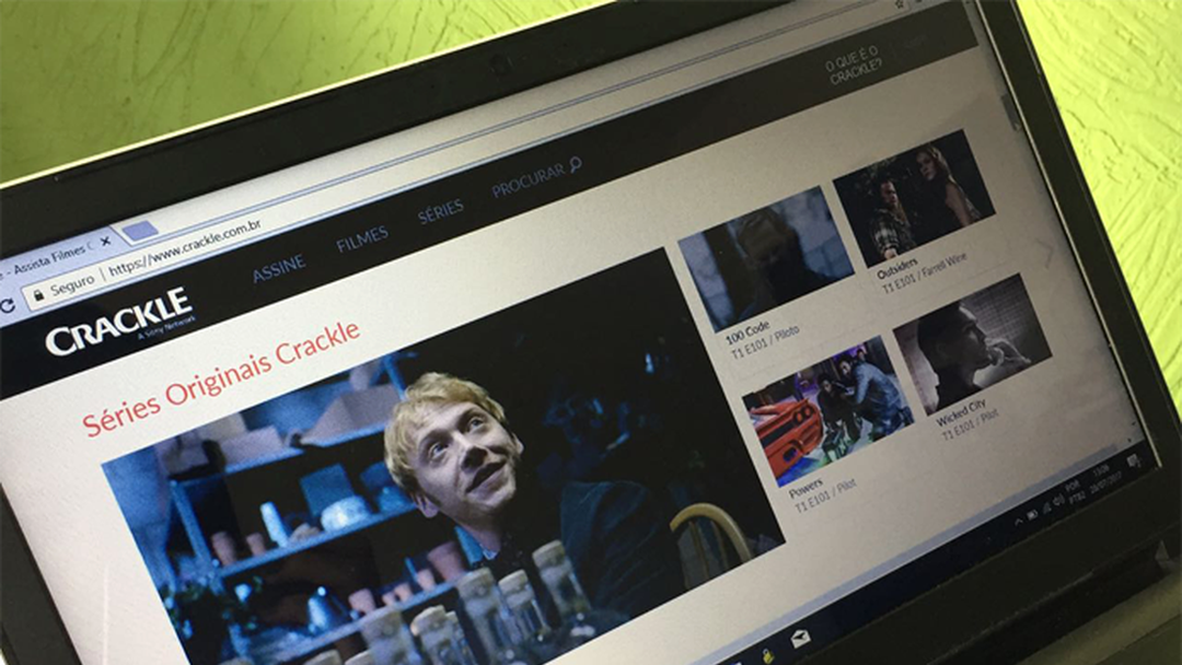 Crackle | Download | TechTudo