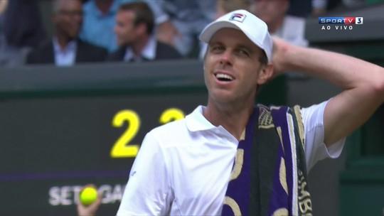 Andy Murray é eliminado por americano em batalha de 5 sets
