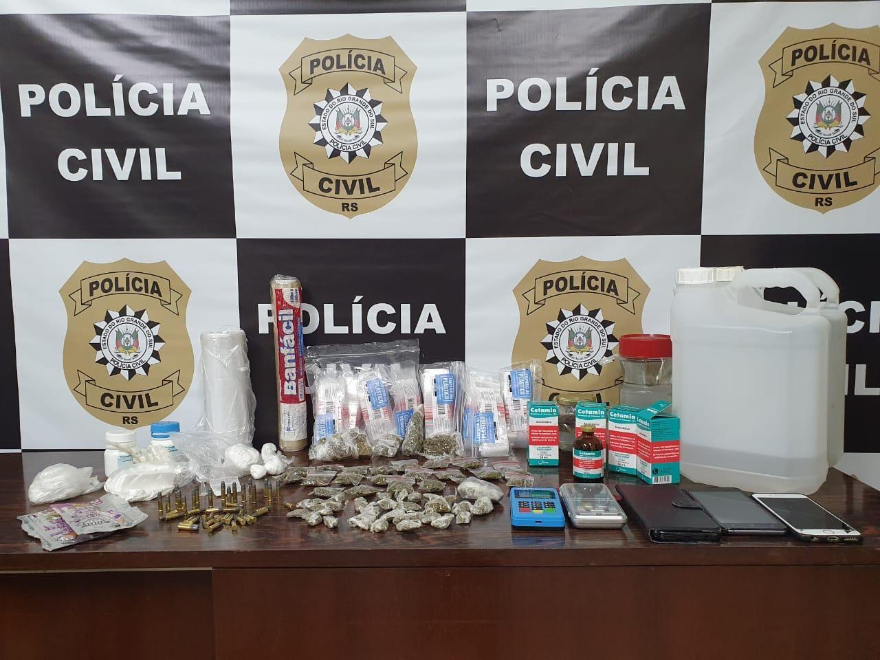 Vereador licenciado é preso por suspeita de envolvimento com tráfico de drogas em Esteio