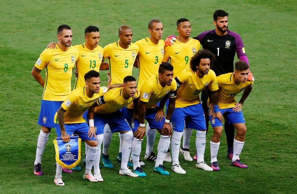 Brasil estreia nas Eliminatórias para a Copa de 2022 contra a Bolívia — Foto: REUTERS/Ricardo Moraes