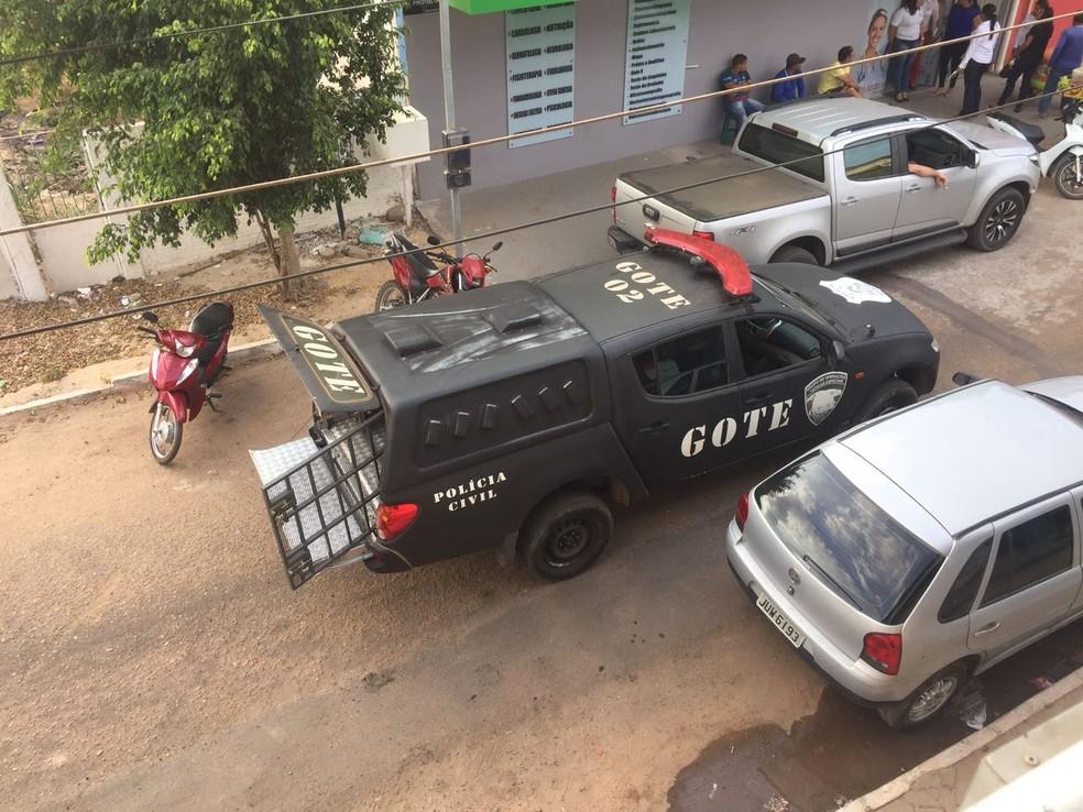 Militares foram presos em Marabá e transferidos de helicóptero para o Tocantins (Foto: Divulgação)