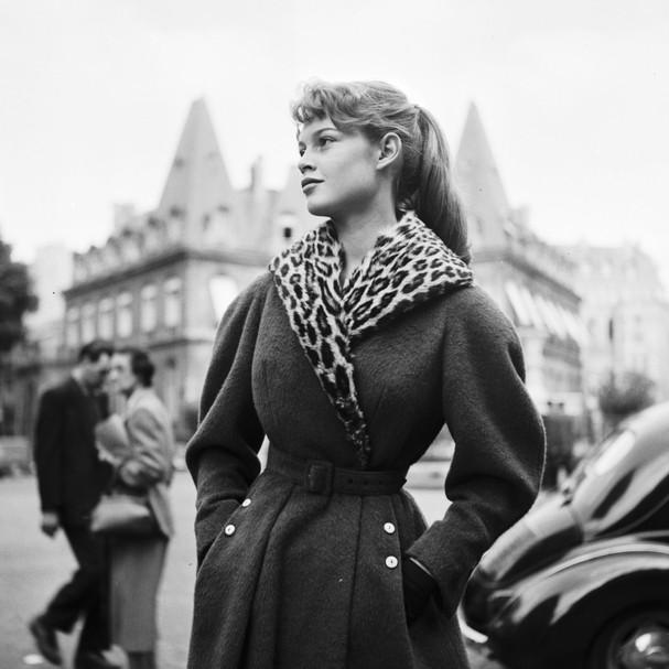 Foto de Brigitte Bardot pelo fotógrafo Georges Dambier (Foto: Divulgação)