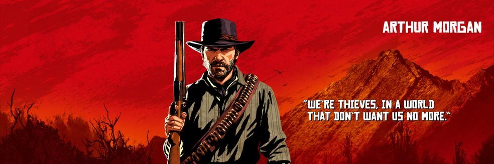 Arthur Morgan, de Red Dead Redemption 2 — Foto: Divulgação/Rockstar