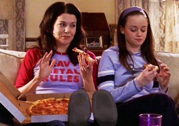 Pizza, sempre! (Foto: Reprodução)