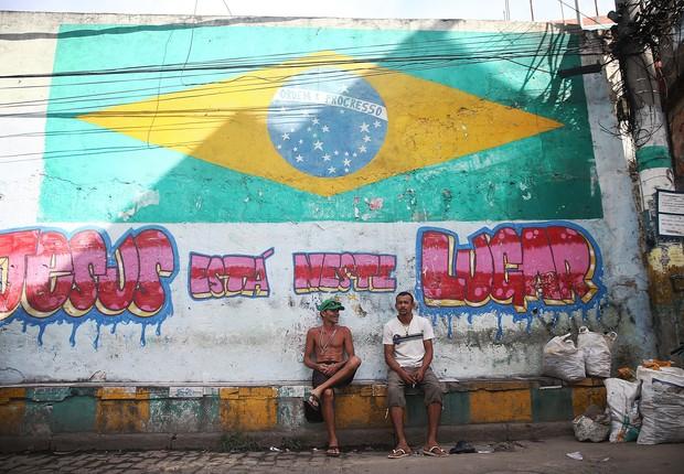 Bandeira do Brasil (Foto: Mario Tama/Getty Images)