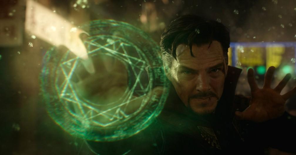 Benedict Cumberbatch em cena de 'Doutor Estranho' (Foto: Divulgação/Marvel)