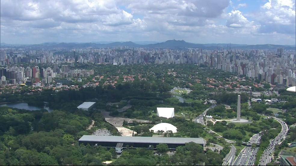 Parque do Ibirapuera (Foto: TV Globo/Reprodução)