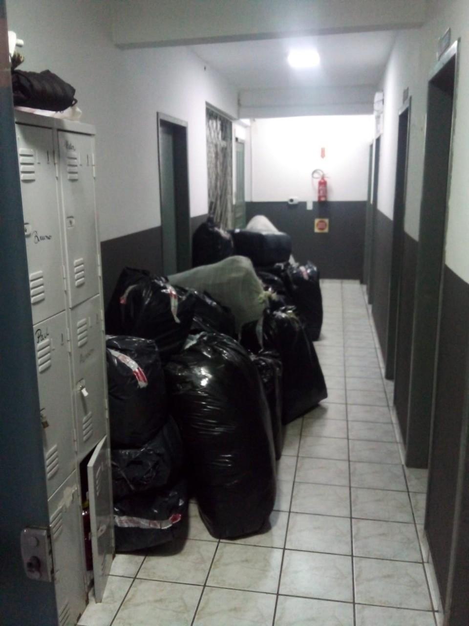 Carga com roupas sem notas fiscais é apreendida durante fiscalicazação em SC