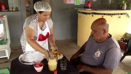 Ex-usuária de drogas abre restaurante e usa decoração reciclável como diferencial
